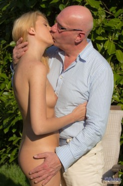 Old young sex with hot blonde