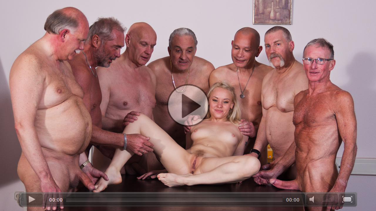 Wild gang bang sex
