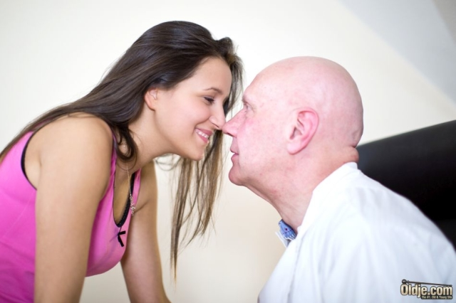 Old and young foreplay seduction