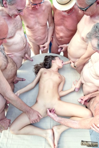 Teen suck old cock handjob old dicks